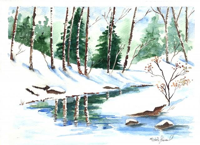 05.le ruisseau enneige