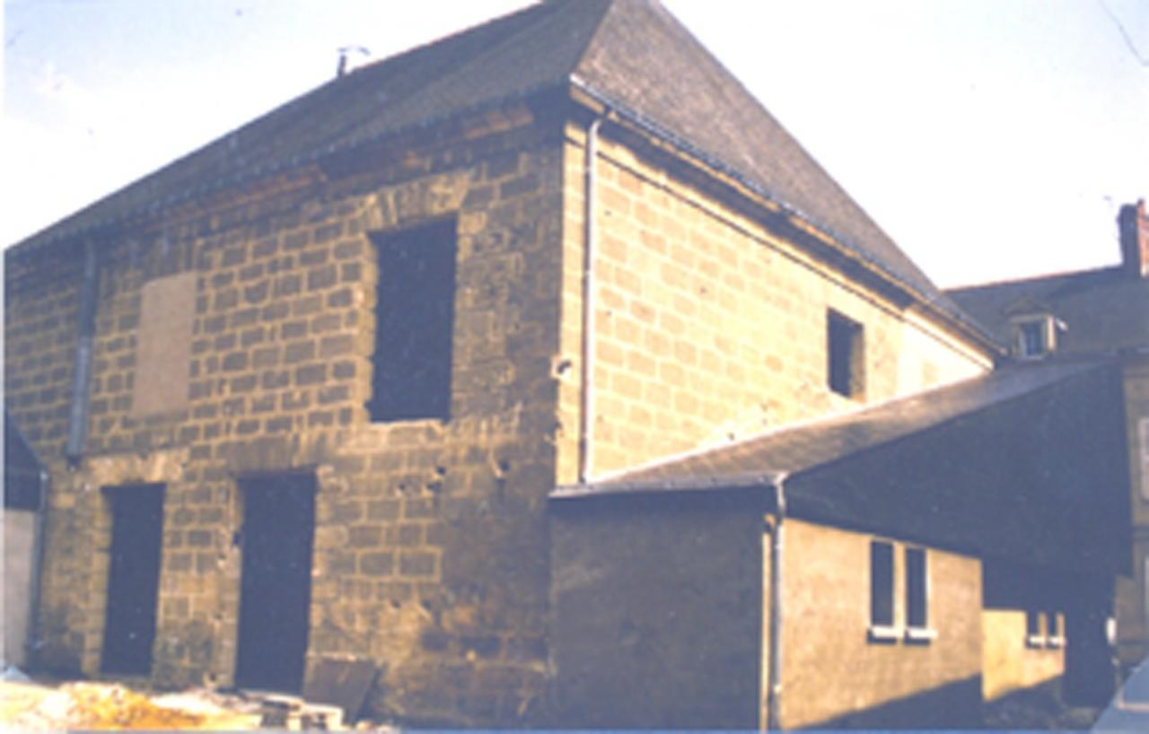 Travaux salle Lucien Leroy